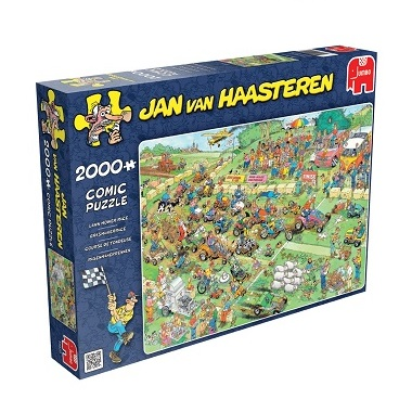 Jumbo Jan van Haasteren legpuzzel grasmaaierrace 2000 stukjes