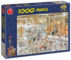 Jumbo Jan van Haasteren legpuzzel De Keuken 1000 stukjes