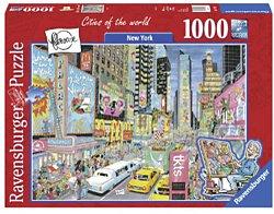 Ravensburger legpuzzel FlerouxCitys of the world New York 1000 s