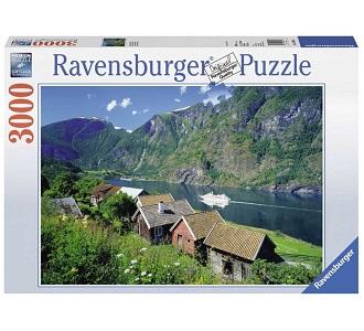 Ravensburger legpuzzel Sognefjord Noorwegen 3000 stukjes