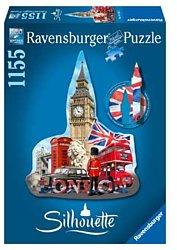 Ravensburger silhouettepuzzel Big Ben Londen 1155 stukjes
