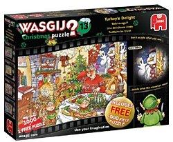 Jumbo Wasgij 13 kerstmis legpuzzel Geluksvogel 1000 stukjes