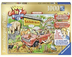 Ravensburger What if 13 legpuzzel The Safari Park 1000 stukjes