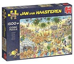 Jumbo Jan van Haasteren legpuzzel de Oase 1500 stukjes