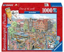 Ravensburger FlerouxCities of the World legpuzzel Amsterdam 1000