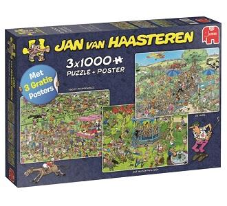 Jumbo Jan van Haasteren legpuzzel Ascot Paardenrace 1000 stukjes