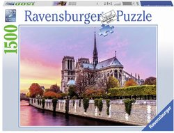 Ravensburger legpuzzel Schilderachtige Notre Dame Parijs 1500 st