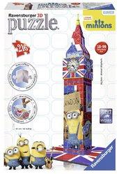 Ravensburger 3D puzzel Big Ben Minions 216 stukjes