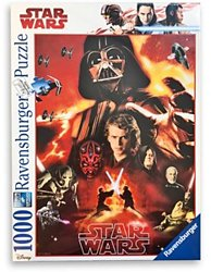 Ravensburger Star Wars legpuzzel The Dark Side 1000 stukjes