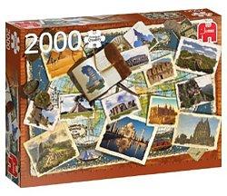 Jumbo legpuzzel Wereld Wonderen 2000 stukjes