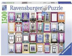 Ravensburger legpuzzel Ramen in Porto 1500 stukjes