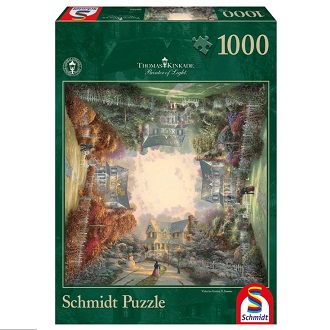 Schmidt Thomas Kinkade legpuzzel Victorian Garden 1000 stukjes