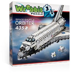 Wrebbit 3D puzzel Space Shuttle Orbiter 435 stukjes