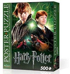Wrebbit wandpuzzel Harry Potter Ron Wemel 500 stukjes