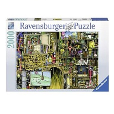 Ravensburger legpuzzel Colin Thompson het Loopy Laboratorium 200