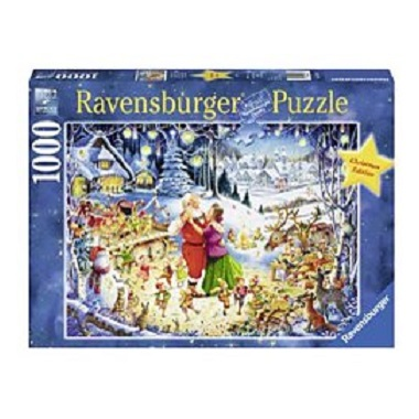 Ravensburger legpuzzel Kerst het Feest der Feesten 1000 stukjes