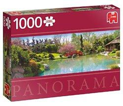 Jumbo Panorama legpuzzel Kleurrijke Tuin 1000 stukjes