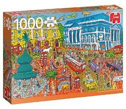 Jumbo legpuzzel Sightseeing Piccadilly Circus Londen 1000 stukje