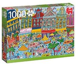 Jumbo legpuzzel sightseeing grote markt Brussel 1000 stukjes