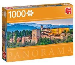 Jumbo Panorama legpuzzel Alhambra in Granada 1000 stukjes