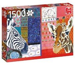 Jumbo Eugen Stross puzzel Afrikaanse Kunst 1500 stukjes