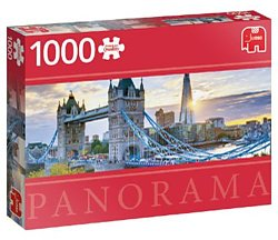 Jumbo legpuzzel panorama Tower Bridge Londen 1000 stukjes