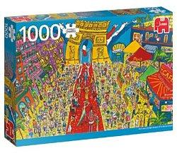 Jumbo legpuzzel Sightseeing Triomfboog Parijs 1000 stukjes
