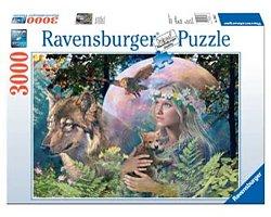 Ravensburger legpuzzel Wolven in de Maneschijn 3000 stukjes