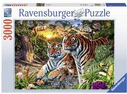 Ravensburger legpuzzel Verborgen Tijgers 3000 stukjes