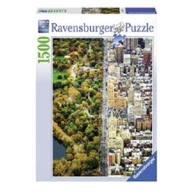 Ravensburger legpuzzel Gescheiden Stad 1500 stukjes