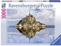 Ravensburger legpuzzel Mont Saint Michel 1000 stukjes
