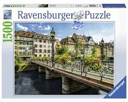 Ravensburger legpuzzel Zomers Straatsburg 1500 stukjes