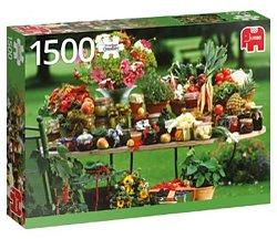 Jumbo legpuzzel Groente en Fruit 1500 stukjes