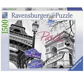 Ravensburger legpuzzel Paris Mon Amour 1500 stukjes