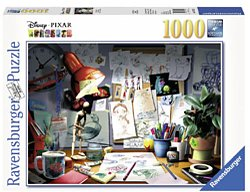 Ravensburger Disney legpuzzel Pixar the Artist Desk 1000 stukjes