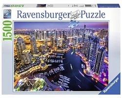 Ravensburger legpuzzel Dubai aan de Perzische Golf 1500 stukjes