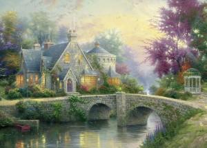 Selecta Thomas Kinkade legpuzzel Avondstemming 3000 stukjes