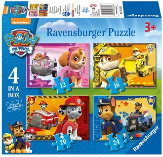 Ravensburger Paw Patrol kinderpuzzel Puppies op Pad 24 stukjes v