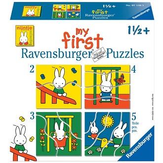 Ravensburger kinderpuzzel My First Nijntje 5 stukjes voor peuter