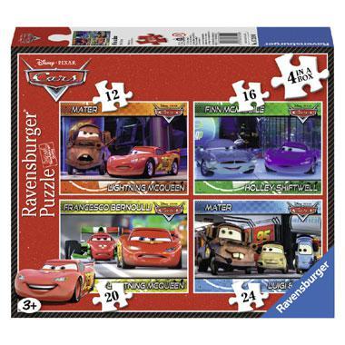 Ravensburger kinderpuzzel Disney Cars 24 stukjes vanaf 3 jaar