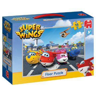 Jumbo vloerpuzzel Super Wings 15 stukjes vanaf 3 jaar