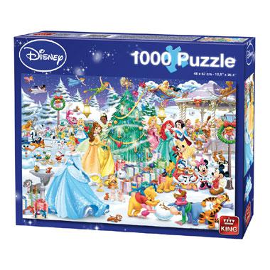King puzzel Disney Winter Wonderland 1000 stukjes