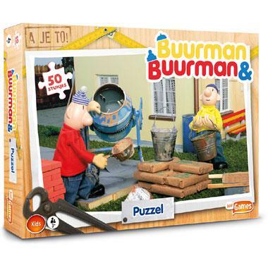 Just Games kinderpuzzel Buurman & Buurman 50 stukjes vanaf 3 jaa