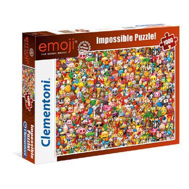 Clementoni kinderpuzzel Emoji 1000 stukjes