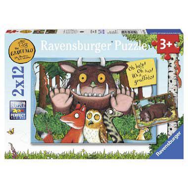Ravensburger kinderpuzzel the Gruffalo 12 stukjes vanaf 3 jaar