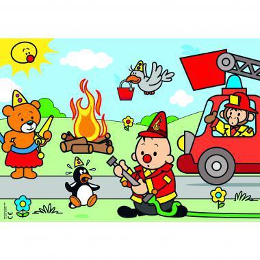 Studio 100 Bumba puzzel brandweer 30 stukjes vanaf 2 jaar