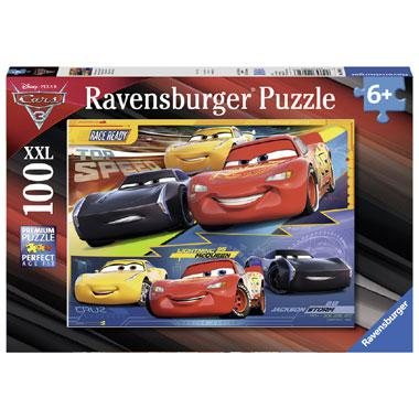 Ravensburger Disney cars 3 XXL kinderpuzzel Duel der Kampioenen
