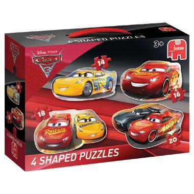 Jumbo vormpuzzel Disney cars 3 20 stukjes vanaf 3 jaar