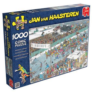 Jumbo Jan van Haasteren legpuzzel de Elfstedentocht 1000 stukjes