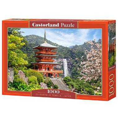 Selecta Castorland legpuzzel Seiganto Ji Tempel 1000 stukjes